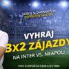 Vyhraj 3x 2 zájazdy na zápas Inter - Neapol!