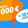 Tipsport zvýšil vstupný bonus až na €4,000 + €15 zadarmo na prvé stávky!