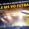 Vyhrajte zájazd na finále MS vo futbale a 10x €100 stávkový kredit!