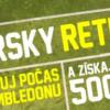 Tipérsky return aj počas Wimbledonu