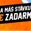 Stav si na Ligu Majstrov a získaš €5 stávku zadarmo
